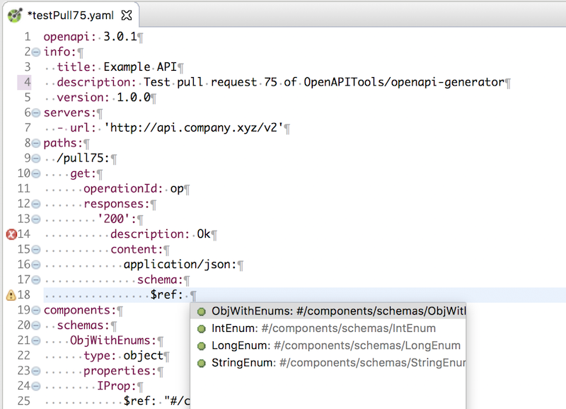 KaiZen OpenAPI Editor for Eclipse IDE